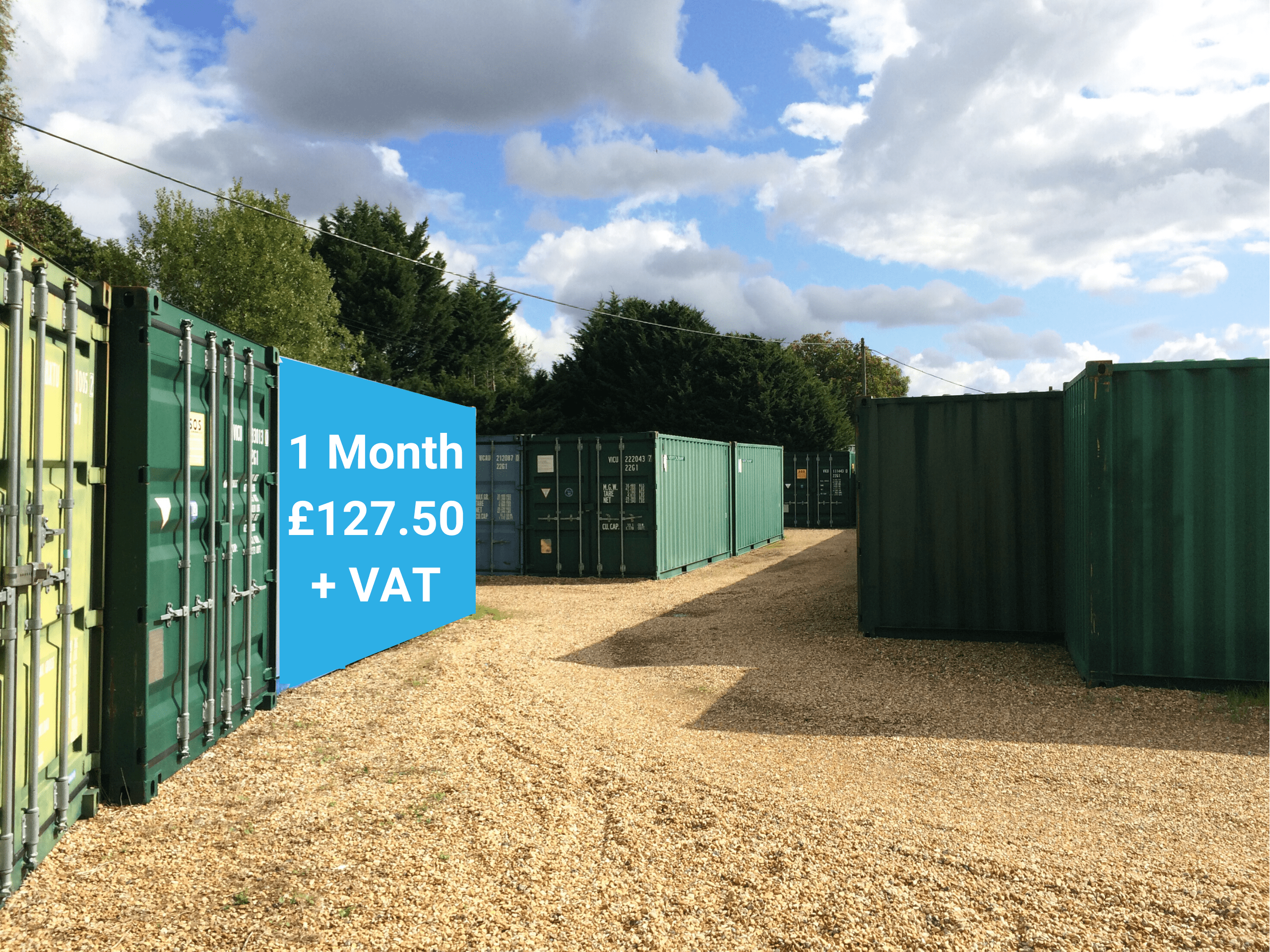 monthly self storage solution sussex prices