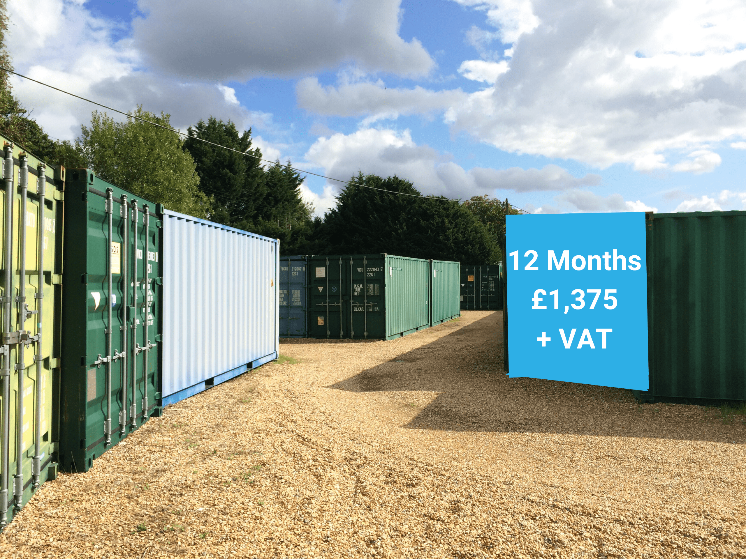 stedham self storage containers sussex prices